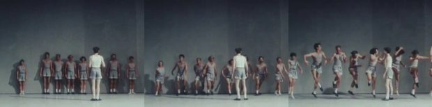 Image 7. Gallotta instructs dancers by moving, instead of speaking.
