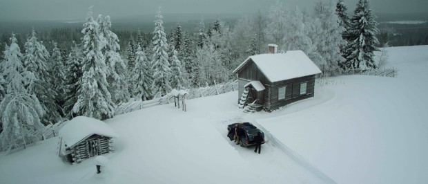 Kuva 4. Bunny the Killer Thing -elokuva tapahtuu Suomen Lappia muistuttavassa ympäristössä.