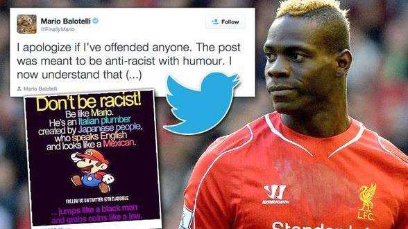 Kuva 1. The Daily Express uutisoi Mario Balotellin Instagramissa jakamasta Supermario-kuvasta.