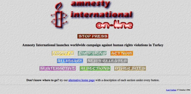 Kuva 1. Amnesty International, 1996.