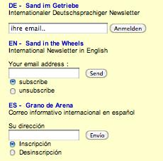 Kuva 5. ATTAC, 2003: tiedotussähköpostilista.