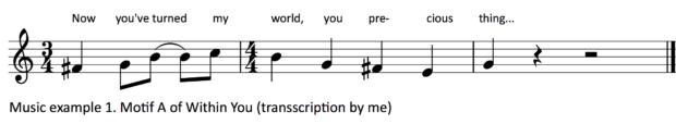 Music example 1.