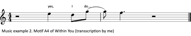 Music example 2.