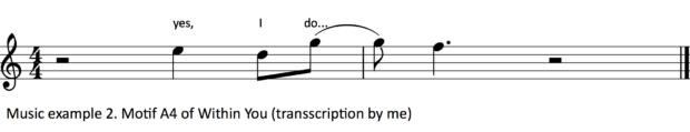 Music example 2.