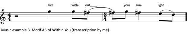 Music example 3.