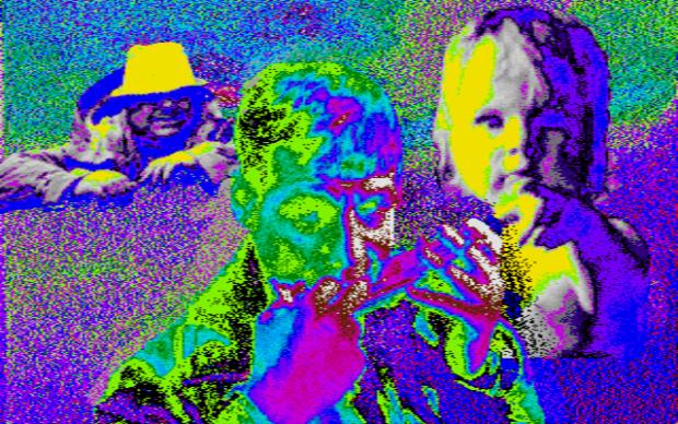 Kuva A.11. Kasvokollaasi eri paletilla.