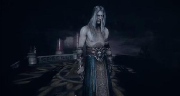Kuva 2. Unesta herännyt Dracula on heikko ja riutunut hahmo.