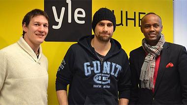 Kuva 2. Amin Asikainen, Semir Ben-Amor sekä Husu.