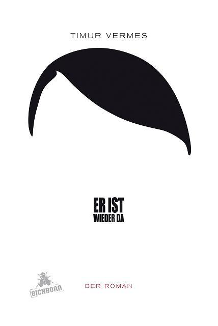 Kuva 13. Uutta satiirista Hitleriä romaanissa Er ist wieder da. Kustantaja meni teoksen leikittelyssä niin pitkälle, että myi romaania hintaan 19,33 euroa mikä oli tietenkin viittaus natsipuolueen valtaannousun vuoteen. © Eichborn Verlag