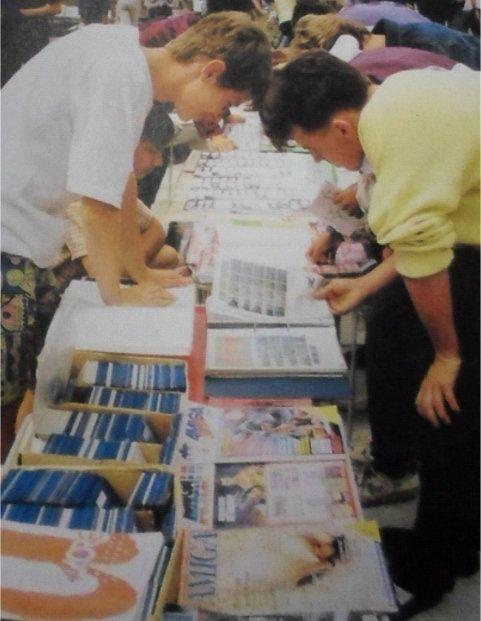 Computer fair in Warsaw Amiga